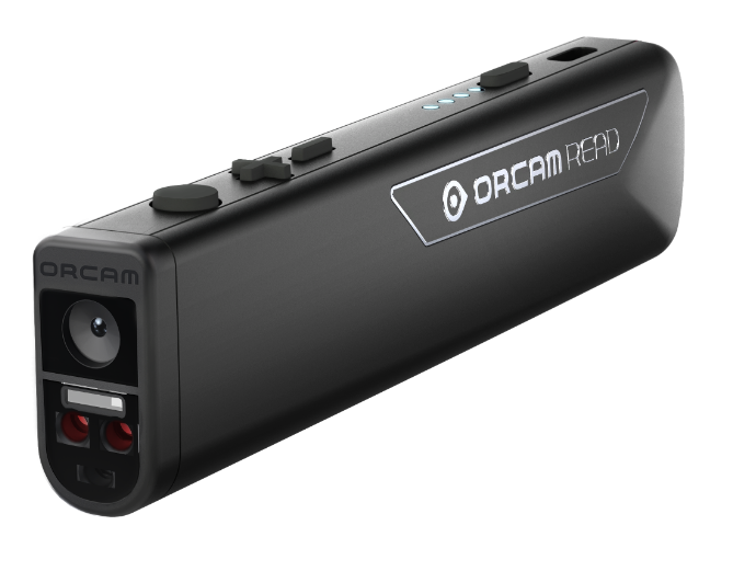 OrCam Read device.